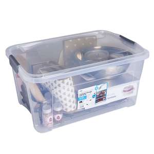 Wilko Modular Storage Box and Lid 45 Litre - £4 (C&C)