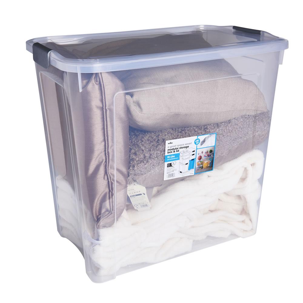 Wilko Modular Storage Box and Lid 90 Litre - £6 (Free C&C)