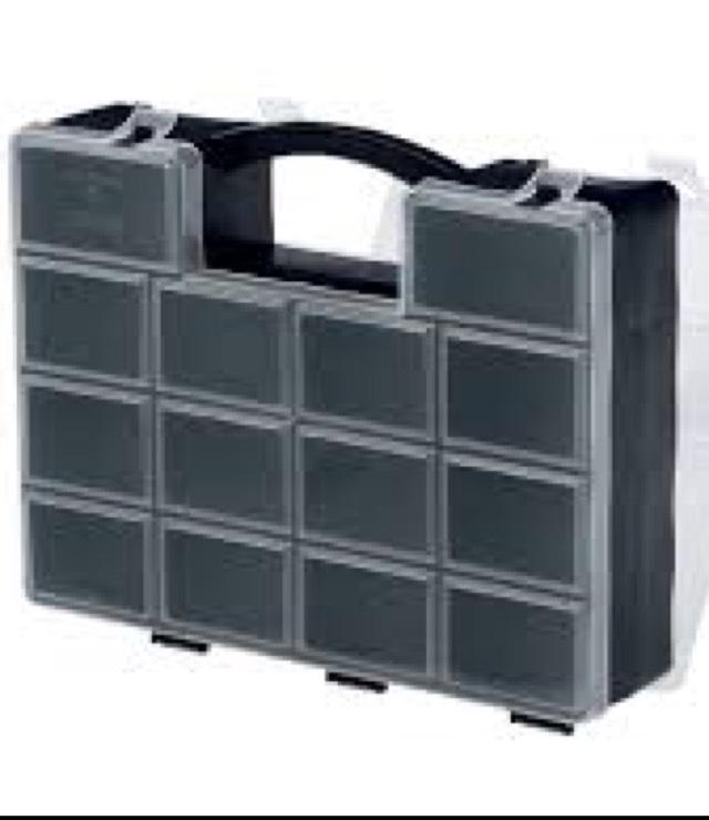 Powerfix Profi Dual Small Parts Container Case £2.99 @ Lidl