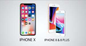 iPhone upgrade program. iPhone X from 56.45 p/m new iPhone every year Unlocked — choose your carrier Low monthly payments at 0% APR iPhone protection with AppleCare+