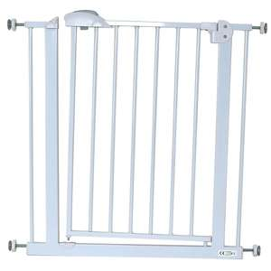 iSafe DeLuxe Stair Gate 90° STOP OPEN & Auto-Close StairGate - White 75-85 cm was 29.95 Now 14.95 @ Baby Travel