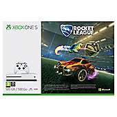 Xbox One S with Rocket League + The Evil Within II + Wolfenstein II - £219 @ Tesco