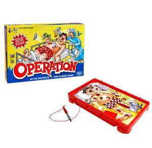 Classic Operation from Hasbro Gaming - Tesco Instore - £10