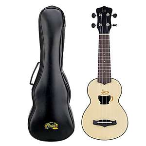 Small Kids Guitar Ukulele Nylon String 17'' with Zipped Carry Case (Coffee Cup Version) £10.99 Prime Sold by mearings and Fulfilled by Amazon