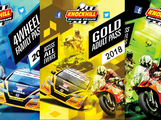 Knockhill Racing Circuit - Adult Gold Season Pass £135