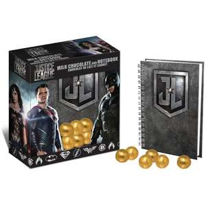 Justice league notebook and chocs 87p instore @ wilko