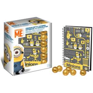 Despicable Me 3 Chocolate and Notebook 87p @ Wilko