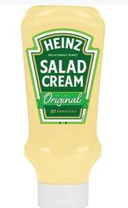 Heinz salad cream 655g £2 @ Asda