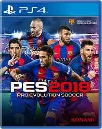 PES 2018 PS4 Tesco direct  £15 Low stock