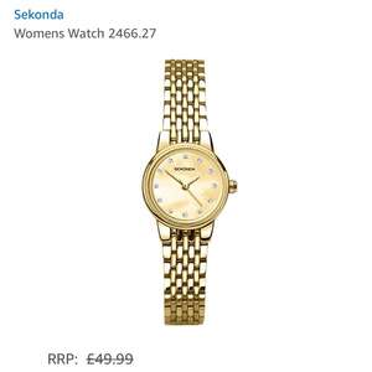Sekonda women's watch 2466.27 £10.55 @ Amazon