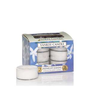Yankee Candle 12 Pack Of Tea Light Candles, Midnight Jasmine Fragrance, £3.50 (Prime) £7.49 (Non-Prime) @ Amazon