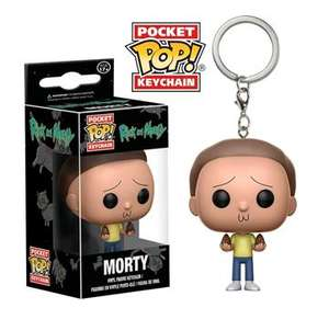 Pocket POP! Keychain: Rick & Morty: Morty £2.99 Delivered @ Grainger Games (Disney/Marvel Blindbags £3.99)