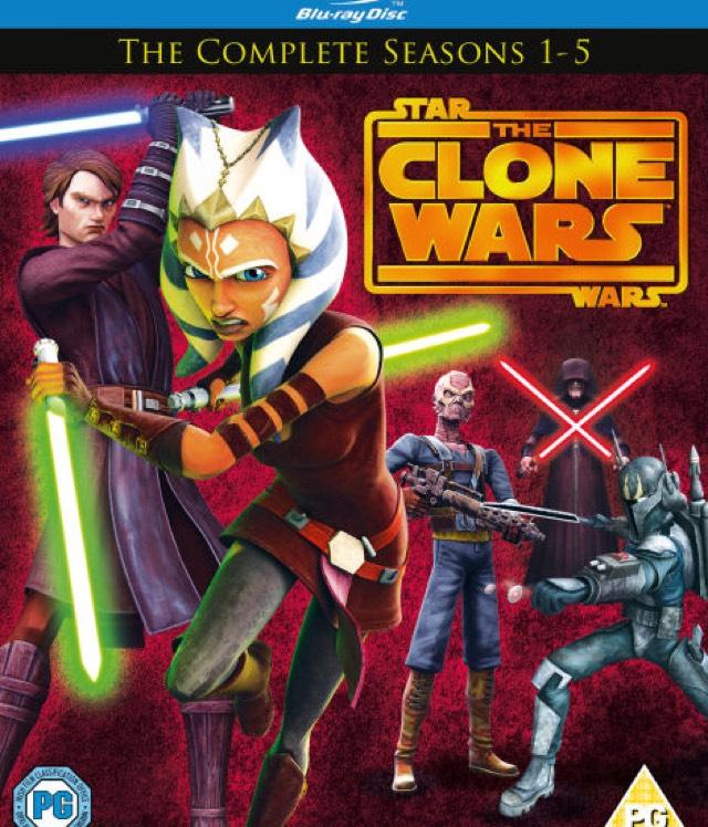 Star Wars: The Clone Wars - complete seasons 1-5 Blu-ray £29.99 at Zavvi