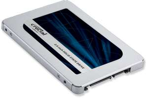 "New Lower Price. Crucial MX500 250GB SATA 2.5"" 7mm SSD CT250MX500SSD1 £68.39 @ Crucial.com"