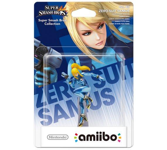 Zero Suit Samus Amiibo - Argos £4.99 (C+C) / £8.94 (Delivered) @ Argos