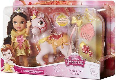 "Disney Princess 6"" Petite Belle & Pony Doll scanning at £5.00 instore Tesco Burnley"