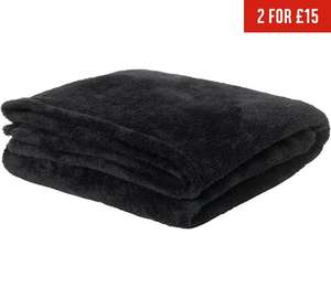 throw/blanket for £3.49 at Argos