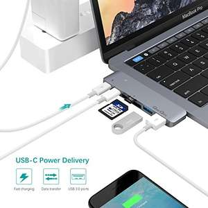 Macbook USB/SD Hub - Works with new Macbooks £29.99 @ Amazon (Sold by EgoIggo UK and Fulfilled by Amazon)
