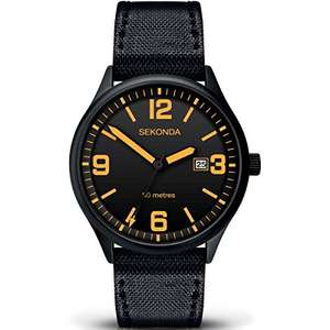 SEKONDA Unisex-Adult Watch - Just £12.58 Prime £16.57 Non Prime @ Amazon!