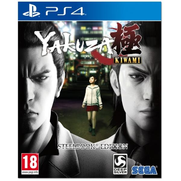 Yakuza Kiwami Steelbook Edition PS4 £17.99 365 Games with code