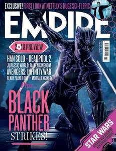 First 3 issues for £1 per issue - Empire magazine subscription at greatmagazines.co.uk