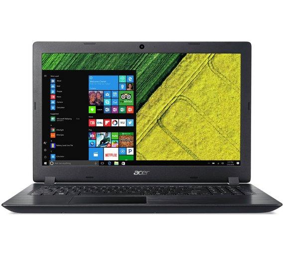 Acer 15.6 Inch i3 4GB 1TB Laptop - Black - £299.99 at Argos!