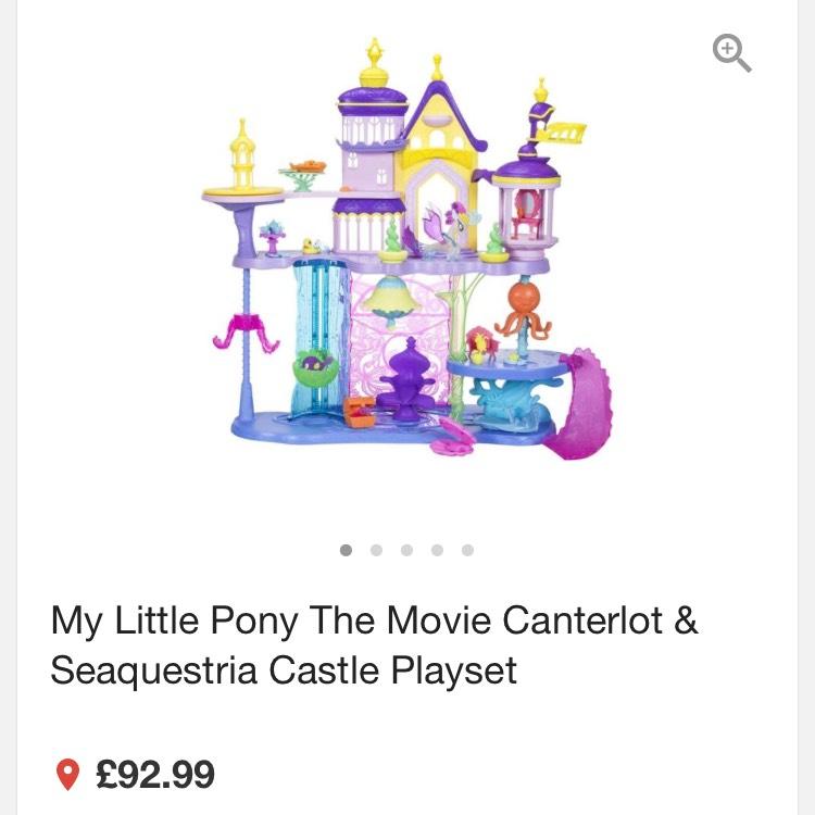 My little pony sparkle castle £20.50 instore @ Tesco Failsworth