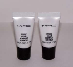 Complimentary Mac gift  (6ml sample of their Strobe Cream) with three Mac purchases @ Debenhams