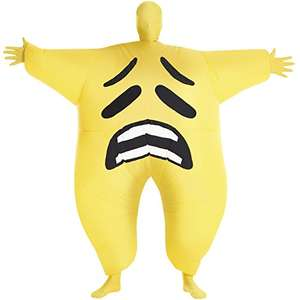 Sad Emoticon Inflatable Megamorph Costume £6.43 prime / £11.18 non prime @ Amazon