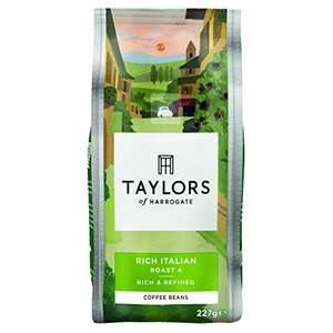 Taylors of Harrogate Rich Italian Coffee Beans  3 x 227g £5.33 - Amazon - Subscribe and Save