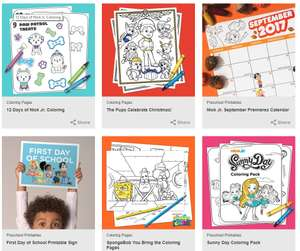 Lots of Free Colouring & Activity Pages to Print