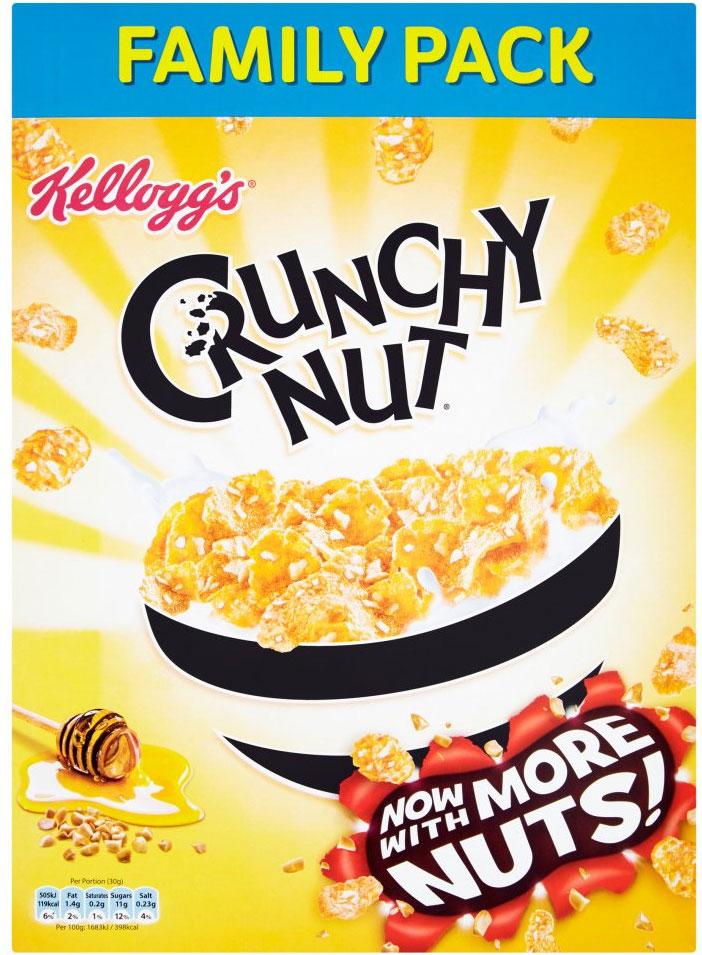 Kellogg's Crunchy Nut Cornflakes 750g £2 @ Tesco also Waitrose