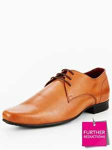 Unsung hero's leather formal tan shoes £15.20 @ very (free click n collect with collect plus)