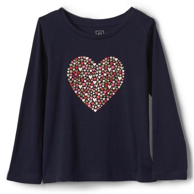 Gap Toddler Clothes Bargains - tops £1.49, pair of socks 74p instore In Gap (Milton Keynes)