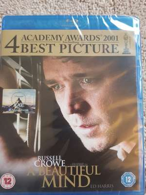 A Beautiful Mind - Blu Ray £1.00 @ Poundland - Manchester - Arndale
