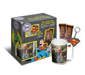 DC Heroes, DC Girls and Pup Patrol Mug, chocolate and keyring sets down to 68p instore @ Wikinsons