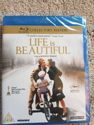 Life Is Beautiful Blu Ray £1 @ Poundland - Manchester/Arndale