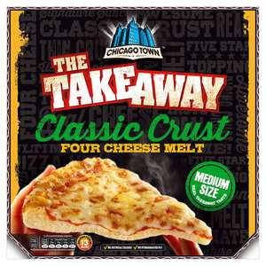 Chicago Town The Takeaway Classic Crust Four Cheese Melt 340g £1.39 @ Iceland