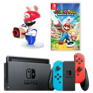 Nintendo Switch Neon with Rayman an Mario & Rabbids - £289.99 @ Grainger Games