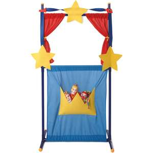 Punch And Judy Puppet Theatre with 4 Puppets now £18.75 C+C w/code @ The Works