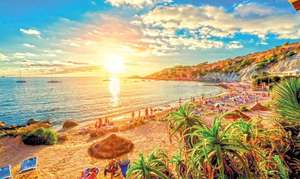 7 nights in Ibiza for £199 each (£398 total) including flights, baggage, breakfast and 3* adults only hotel @ hotels.com