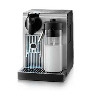 Nespresso - Silver 'Lattissima + Pro' coffee machine by Delongi EN750.MB - £270 at Debenhams!