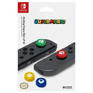 Hori Switch Joycon Themed Thumb Grips (Mario/Luigi/Toad/Star) £7.99 prime / £9.98 non prime @ Amazon