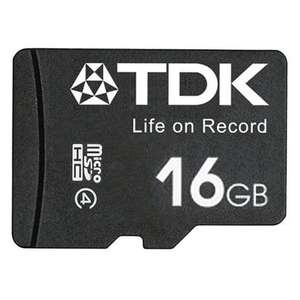 TDK 16GB Micro SD Card (SDHC) - 30MB/s FFP Micro SD £4.99 @ Mymemory