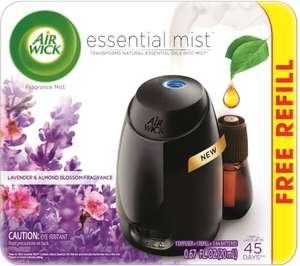 AIR WICK® ESSENTIAL MIST DIFFUSER WITH STARTER KIT £10 @ Asda - Leyton