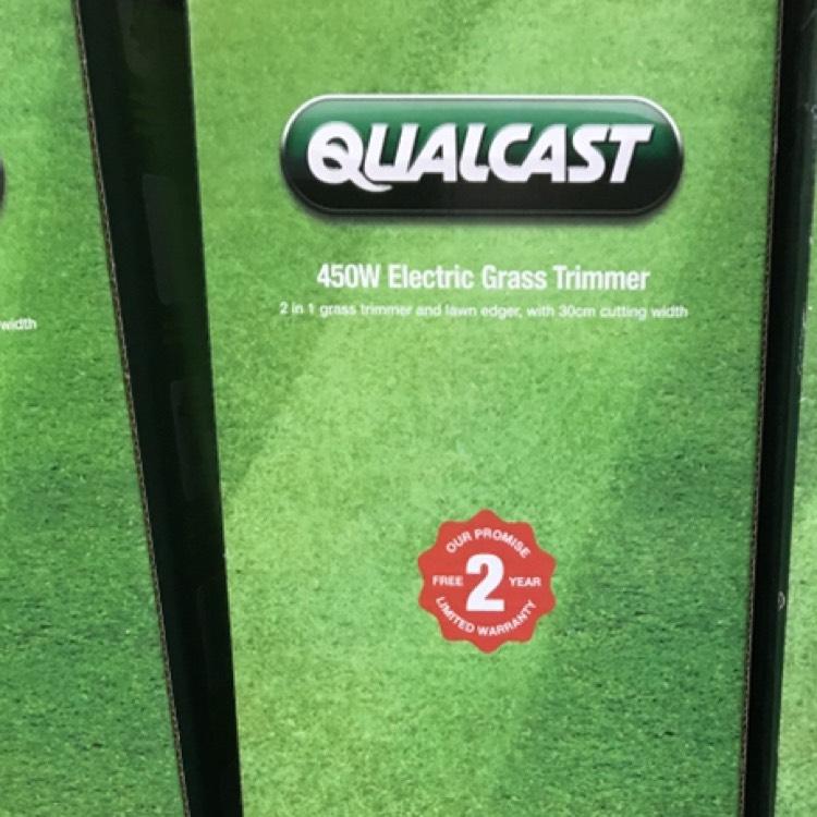 Qualcast 450w trimmer £10 - Homebase Wandsworth branch