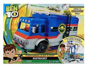 Ben 10 rust bucket play set £17.50 mousetrap £5.50 in-store tesco Stockton