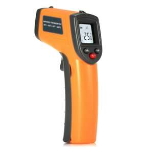 Digital IR Infrared Thermometer with LCD Screen £4.10 W/code @ Gamiss