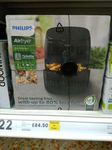 Philips Air fryer £84.50 RTC at Tesco instore