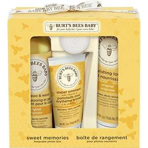 Amazon burt's Bees Baby Bee Sweet Memories Gift Set With Keepsake Photo Box £14.99 prime / £19.74 non prime @ Amazon